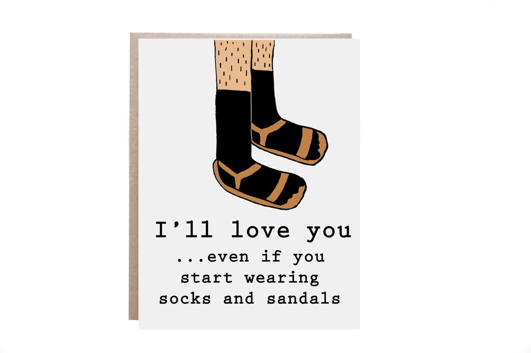 Funny Love Card for Him