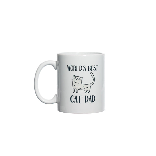 World's Best Cat Dad Mug