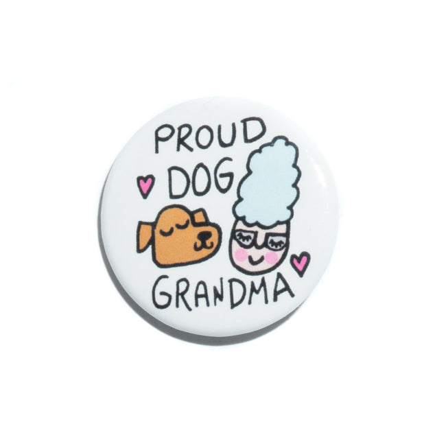 Dog Grandmother Pin