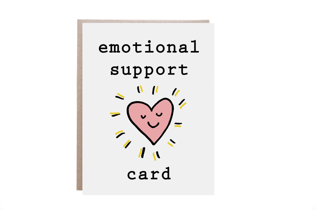 Emotional Support Card
