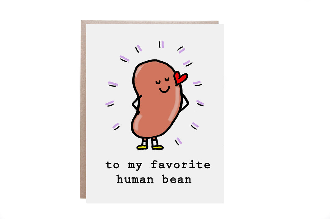 Favorite Human Being Card