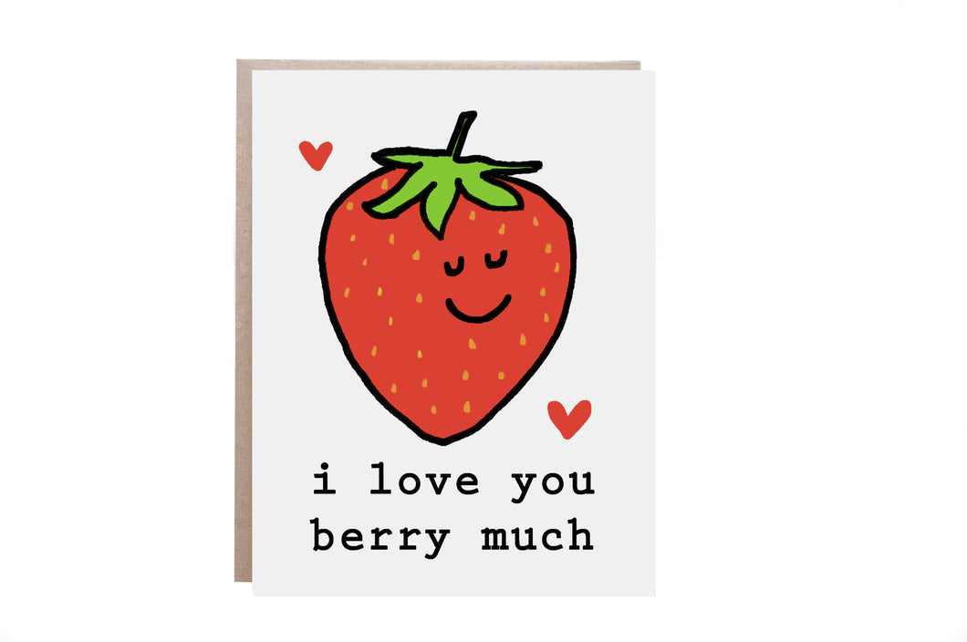 Berry Love Card