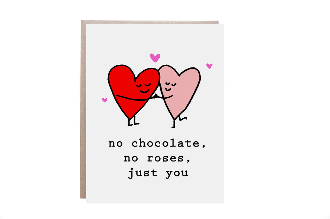 Just You Valentine Card