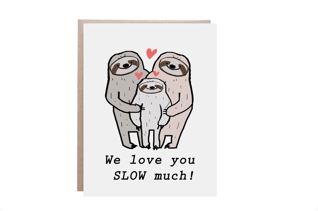 Son/Daughter Love Card