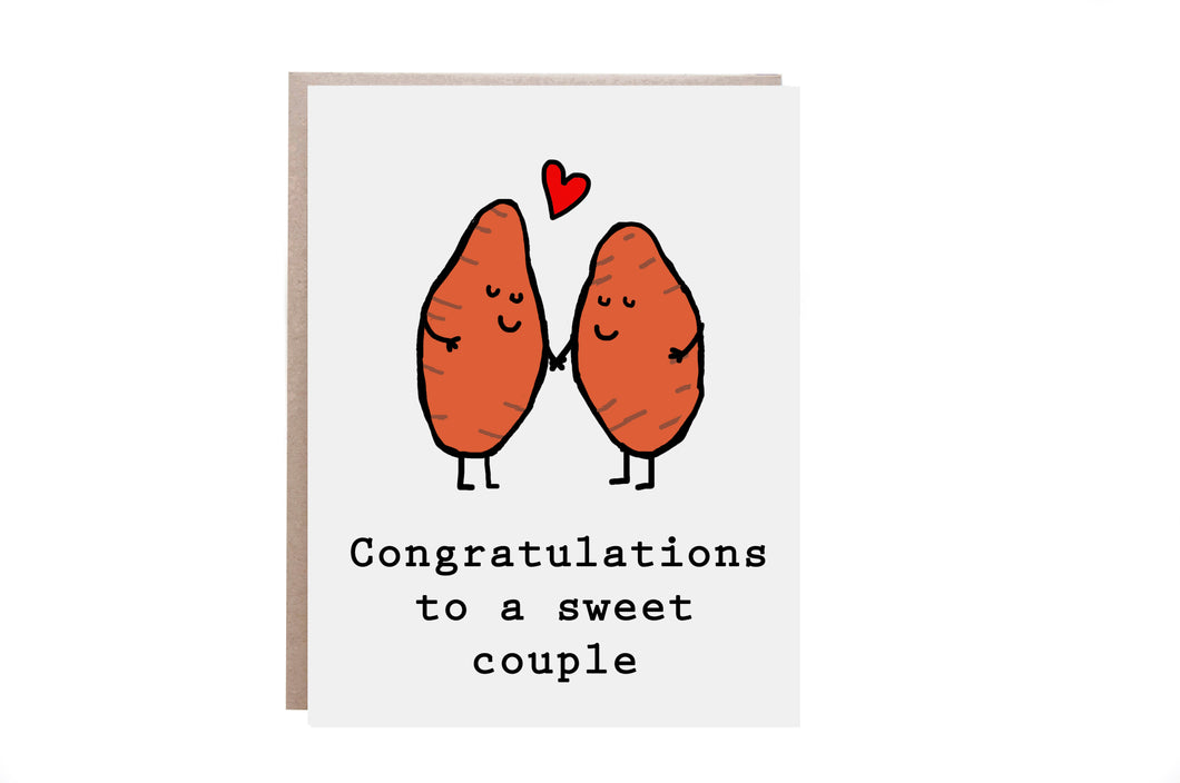 Congratulations Couple Card
