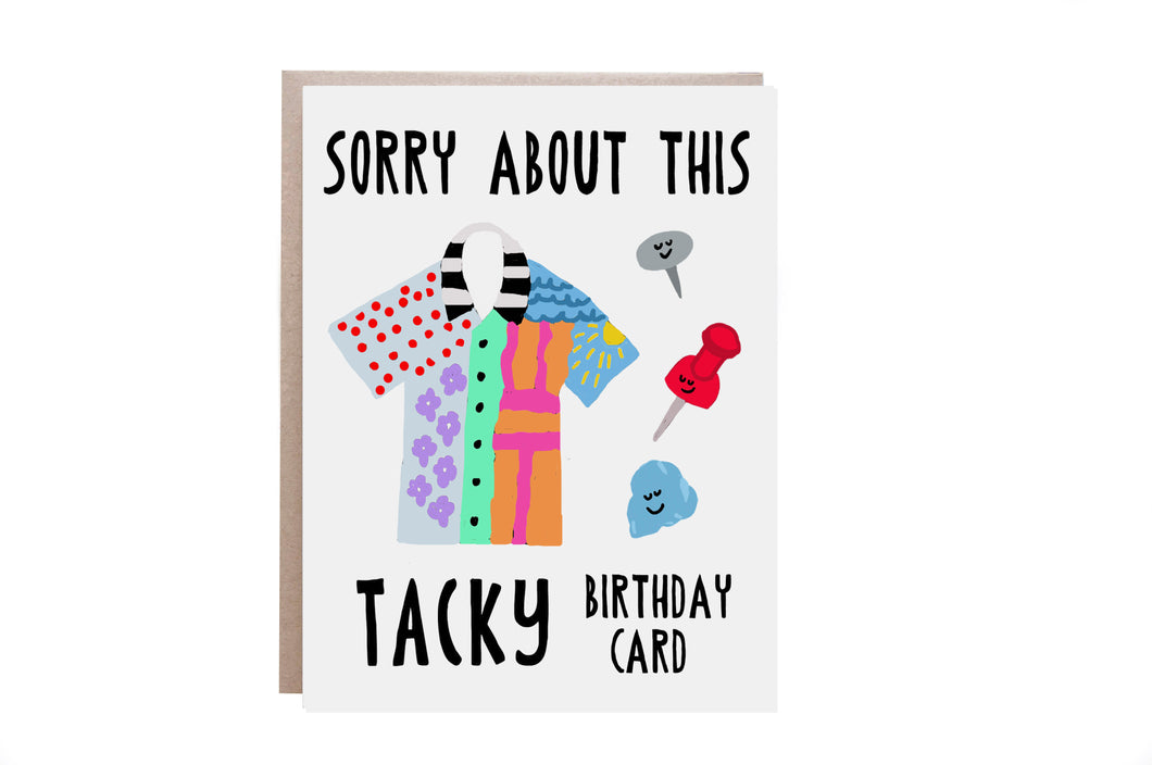 Tacky Birthday Card