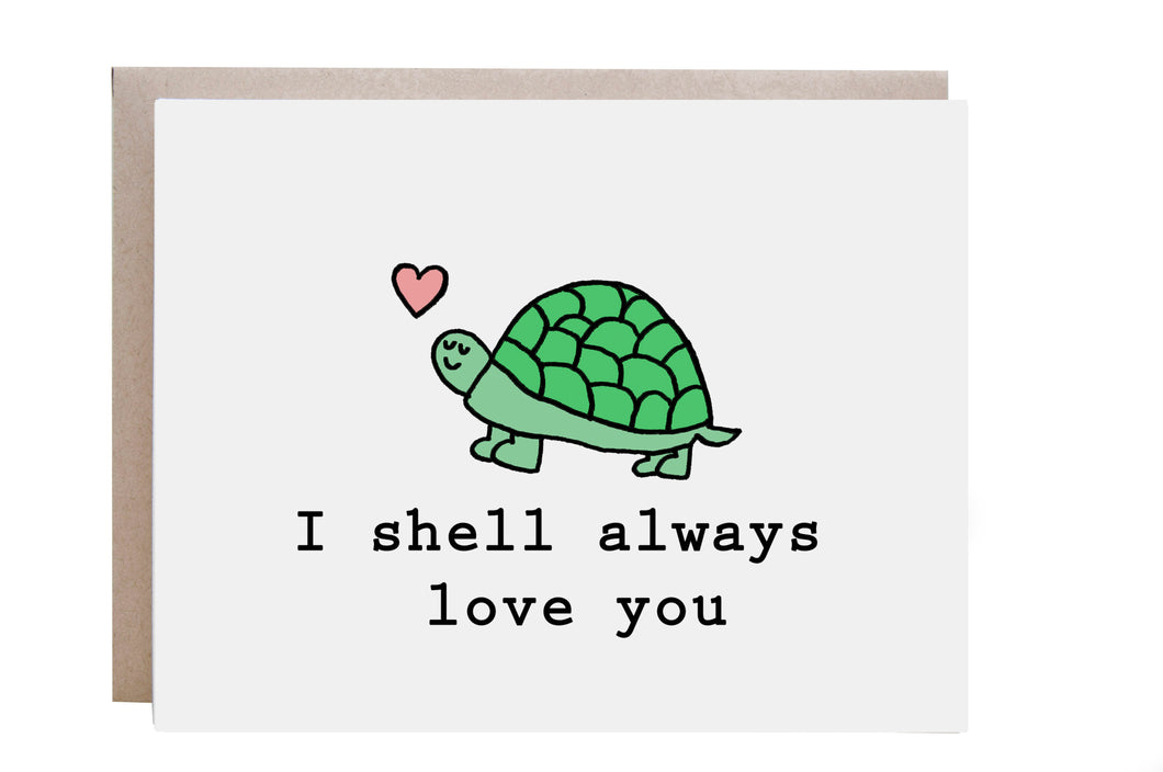Turtle Love Card