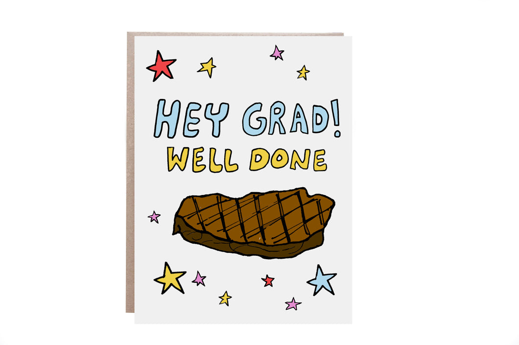 Well Done Graduation Card