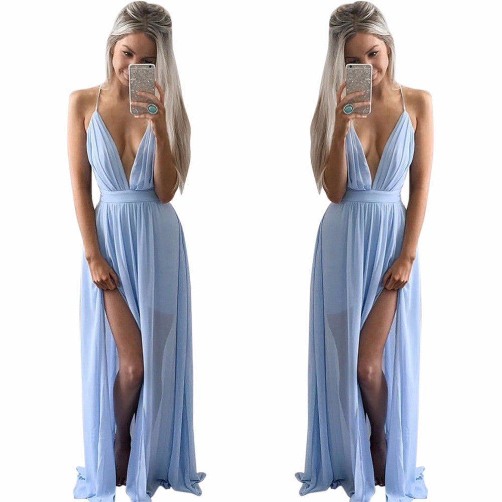 Roman Feast On The Beach Maxi Dress