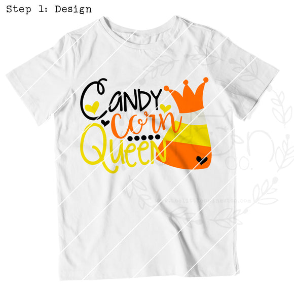 Candy Corn Queen - The Little Owl Nest Co., LLC