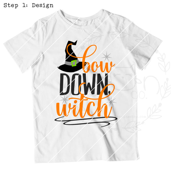 Bow Down Witch - The Little Owl Nest Co., LLC