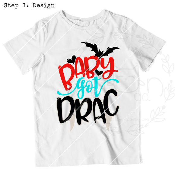 Baby Got Drac - The Little Owl Nest Co., LLC