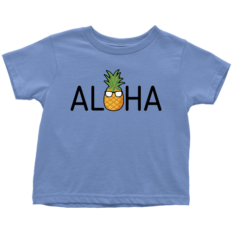 Aloha Pineapple Toddler Shirt