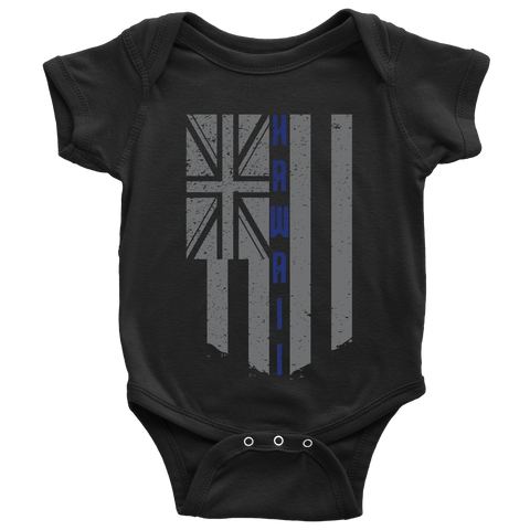 HAWAII Washout Flag - Baby Onesie