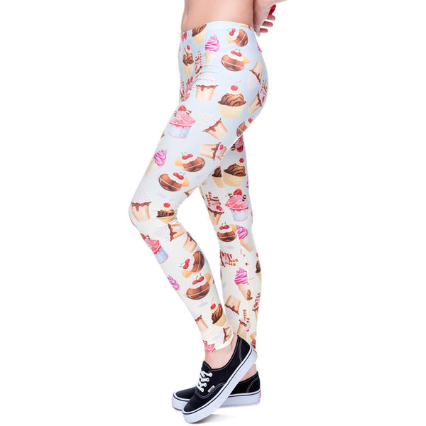 Leggings - Ice Cream Printed Leggings