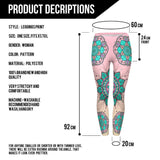 Leggings - Mandala Flower Printed Leggings