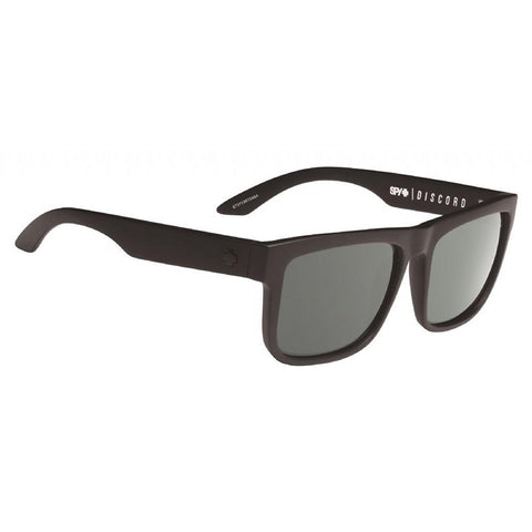 Discord Soft Matte Black w/ Happy Grey Green Polarised