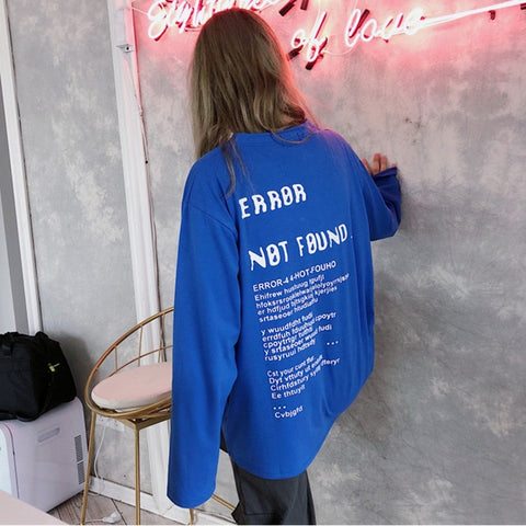 """Error Not Found"" Long Sleeve"