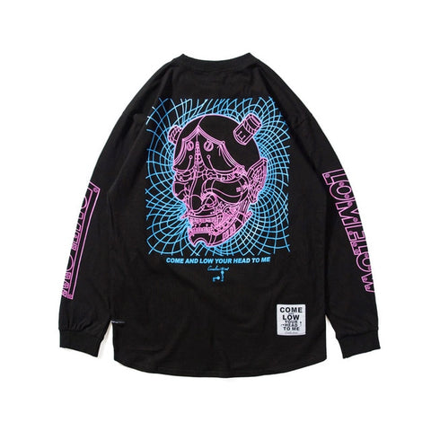 Retro Demon - Long Sleeve Shirt