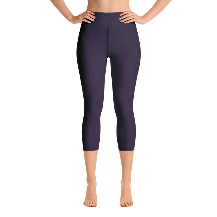 Purple Capri with waist band (New)