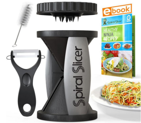 Spiral Slicer Vegetable Spiralizer Bundle - Serveware Accessories