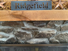 "18"" Ridgefield Metal Wall Art"