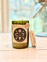 Ridgefield Recycled Wine Bottle Soy Candle