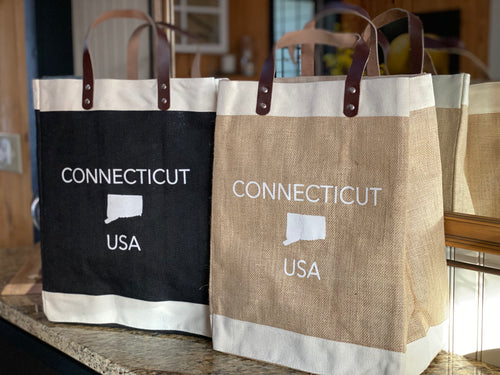 Connecticut USA Market Tote