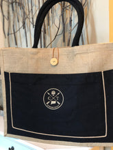 The Iconic Connecticut Two-Tone Jute Tote