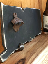 Connecticut Wood Chalkboard Bottle Opener