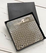 Ridgefield Hammered Metal Coaster Set