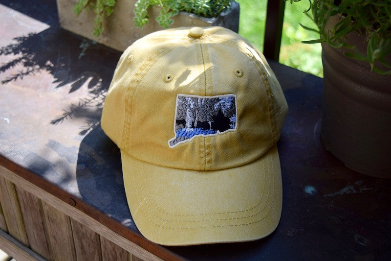 Connecticut Landscape Patch Hat