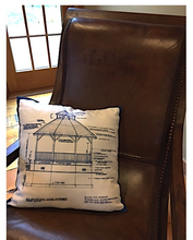 Gazebo Blueprint Pillow