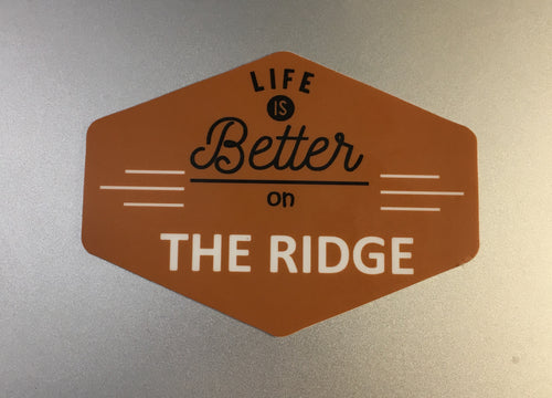 The Ridge Sticker