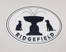 Paws of Ridgefield Oval Sticker
