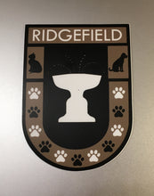 Paws of Ridgefield Shield Sticker