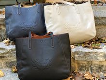 Silver Spring Pebbled Tote