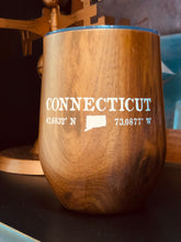 12 oz. Connecticut Woodgrain Stemless Tumbler