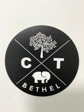 Iconic Town Logo Sticker