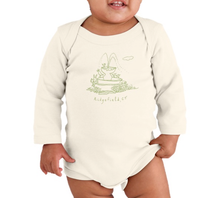 Mini Ridge Long Sleeve Onesie