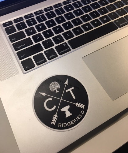 Iconic Ridgefield Logo Sticker