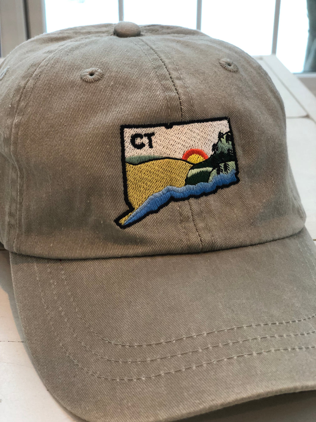 Geo Connecticut Baseball Cap