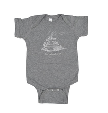 Mini Ridge Short Sleeve Onesie