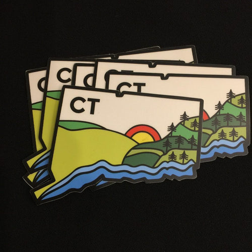 NEW!! Geo Connecticut State Sticker