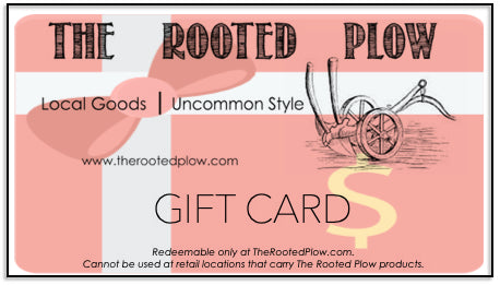 The Rooted Plow Gift Card