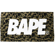 Bape Green Camo Beach Towel (NEW)