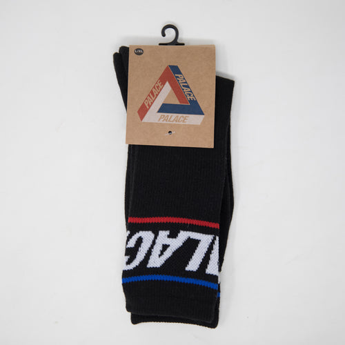 Palace Basically A Socks Black (NEW)