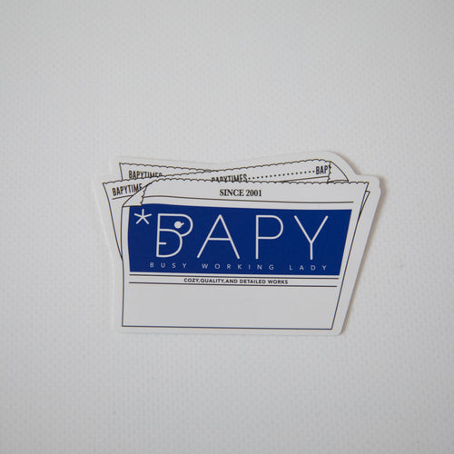 Bape Bapy Newspaper Sticker (MINT)