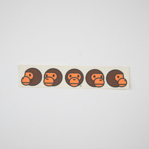 Bape Baby Milo Sticker (MINT)