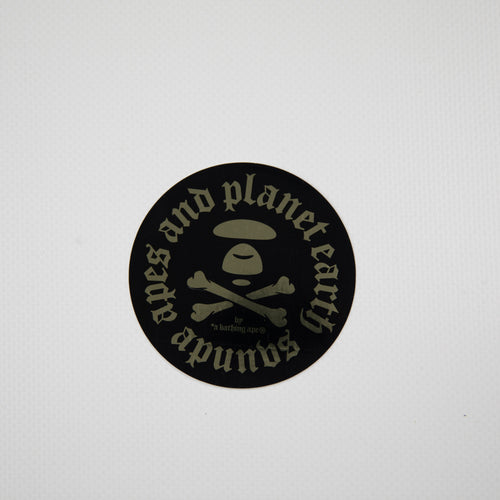Aape By A Bathing Ape Round Sticker (MINT)
